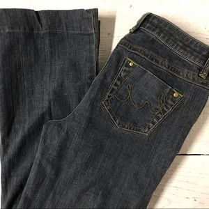 CAbi Contemporary Fit Flare Jeans Womans Size 4